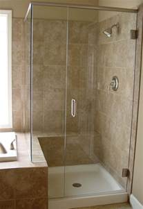a 24 inch shower door made from clear glass