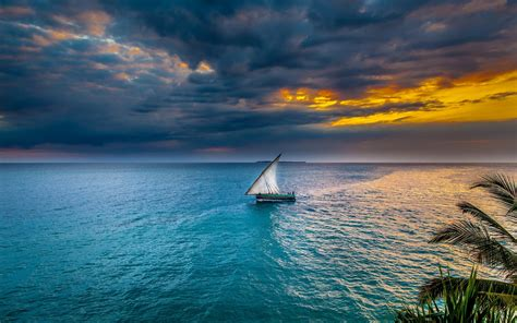 sailing boat background sailing at sunset full hd wallpaper and background image