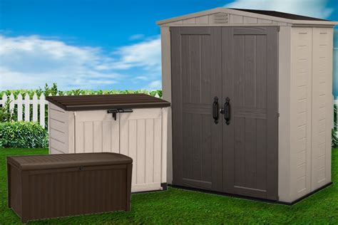 Storage Shed Solutions by Keter Resin Storage Solutions Now Available At Cheap Sheds