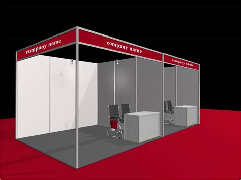 at stall what are the choices of exhibition stand space shell