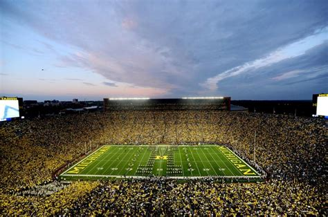 Where Is The Big House by Muskegon To Play At Michigan Stadium In Battle At The Big