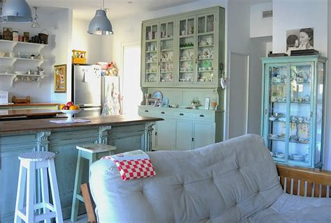 a mix of new and vintage silvina s kitchen in argentina silvina s kitchen buffet vintage dishes hooked on houses