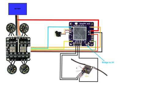 quadcopter wiring diagram guide diy quadcopter circuit
