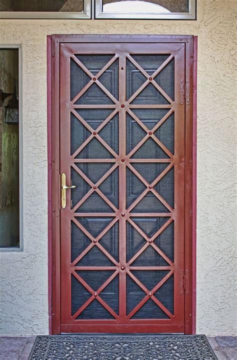 Exterior Security Screen Doors 25 Best Ideas About Security Door On Front Door Locks Steel Security Doors And