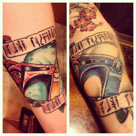 5th estate tattoo tattoos boba fett on jango fett on