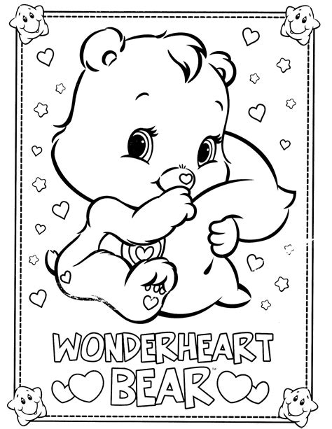 care bears 10 coloringcolor com