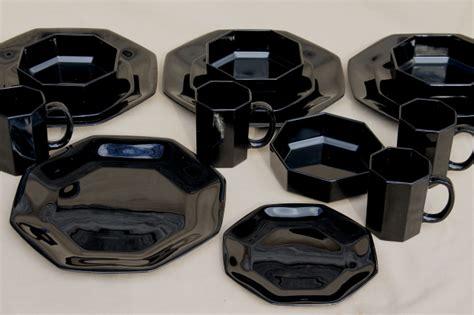 Ceramic Home Decoration black dinnerware sets for 8 home ideas decor gallery