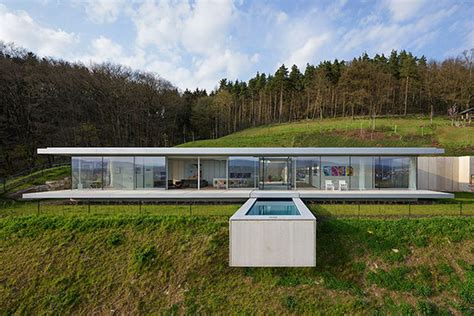 modern home design germany sexy minimalist glass and concrete house rises in germany