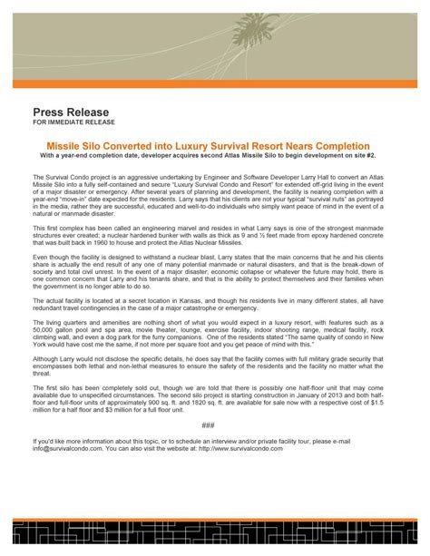templates for press releases 47 free press release format templates exles sles