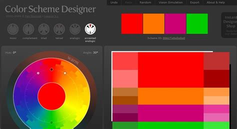 colour scheme creator colour scheme creator cool tools archives page 2 of 5