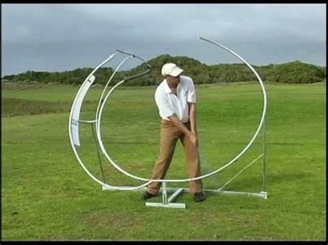 golf swing plane trainer golf gruva most advanced golf swing trainer the