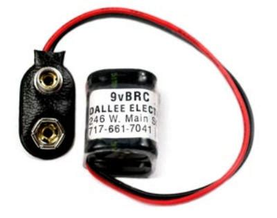 capacitor battery replacement dallee electronics inc 9 volt battery replacement capacitor 9vbrc