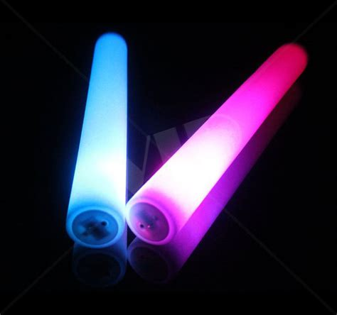 stick up led lights led foam stick flashing party sticks 16 in not customized