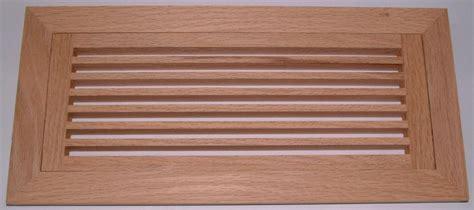 Volko Wood Floor Vents Air Grilles & Registers  oak hvac