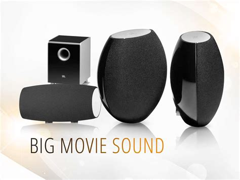 jbl cs480 5 1 channel home theater speaker system black