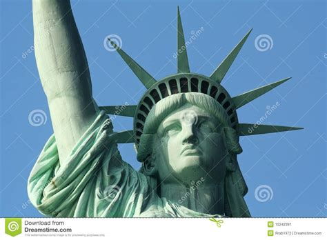 plomeria libertad statue of liberty up close stock image image 10242391