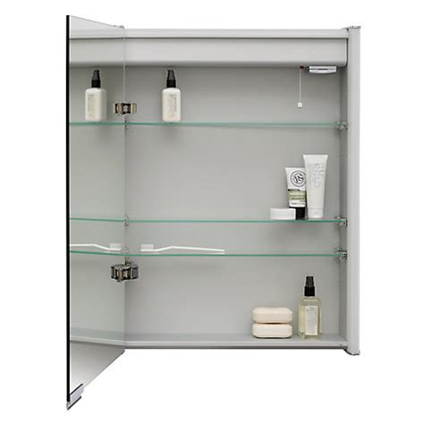 double sided mirror bathroom cabinet buy roper rhodes plateau illuminated single bathroom cabinet with double sided mirror