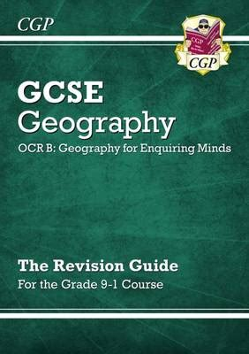 new grade 9 1 gcse geography ocr b geography for enquiring minds revision guide by cgp books