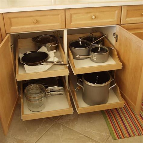 roll out drawers for kitchen cabinets best 25 kitchen drawers ideas on kitchen
