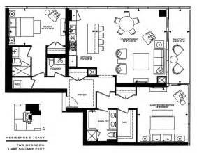 2 Bedroom Condo Floor Plans 2 Bedroom Luxury Condo Floor Plans Trend Home Design And