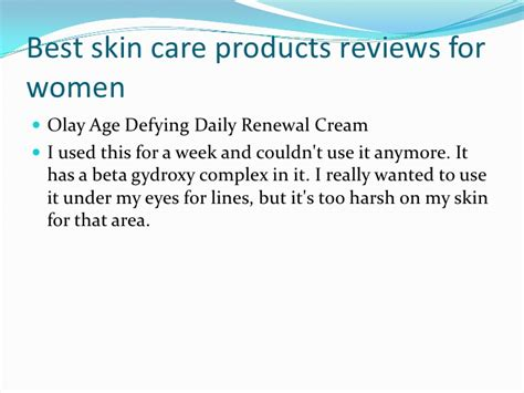 best skin care products reviews best skin care products reviews