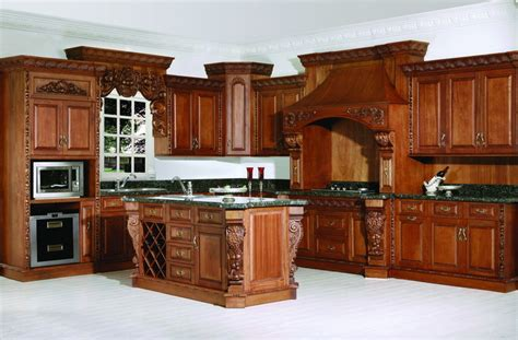 red cherry cabinets kitchen china red cherry solid wood kitchens photos pictures