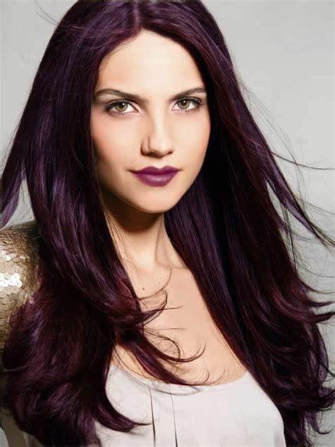 pin cheveux noir et une couleur violet rose au devant pelautscom on 1001 id 233 es pour sublimer votre look avec la couleur de