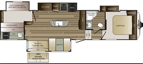 keystone cougar fifth wheel floor plans 2016 keystone rv 2017 keystone cougar 336bhs cing world of memphis