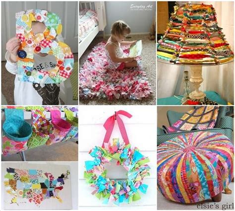 creativity ideas for home decoration 15 creative ideas to recycle fabric scraps for home decor
