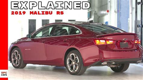 Chevrolet Malibu Rs by 2019 Chevrolet Malibu Rs