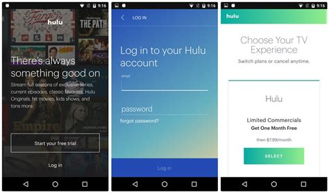 hulu app android hulu update version 3 0 brings major ui changes the android soul
