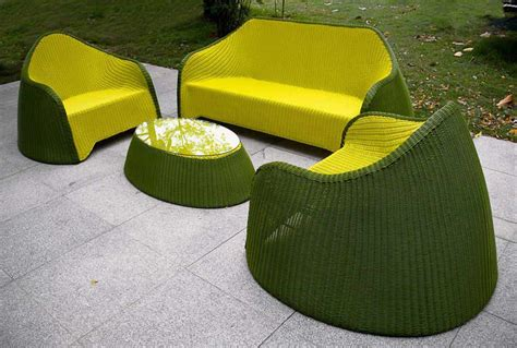 Green Patio Furniture by Stylish And Sustainable Outdoor Furniture