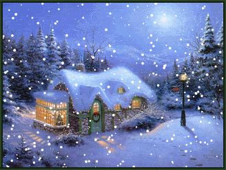 7 most beautiful animated christmas background for