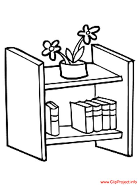 School Colouring Pages Shelf Coloring Page