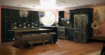 Steampunk kitchen highly stylized kitchen plan steampunk kitchen