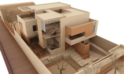 imagenes de maquetas minimalistas casa ml lujoso proyecto de gantous arquitectos
