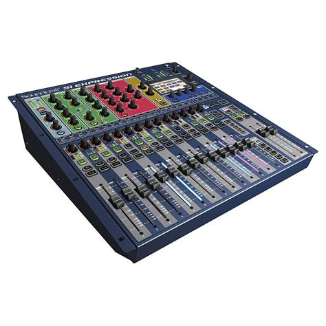 Soundcraft Rack Mount Mixer by Soundcraft Si Expression 1 16 Channel Digital Mixer