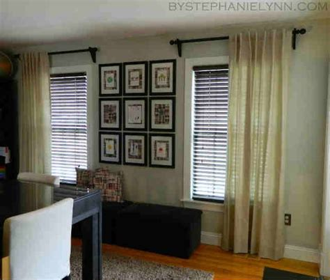 one curtain panel per window one curtain per window decorating pinterest