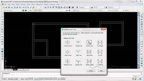 www autocad aula 4 4 criando linhas paralelas no autocad com o