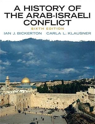 history of the arab israeli conflict a 6th edition 6th