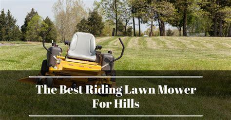 riding lawn mower  hills reviews