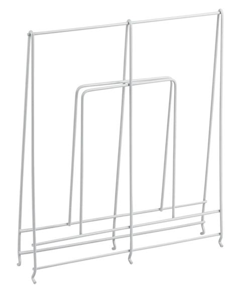 Shelf Dividers For Wire Shelving by Large White Wire Shelf Divider In Shelf Dividers