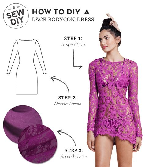 how to make a dress how to make a dress pattern diy outfit lace bodycon dress sew diy