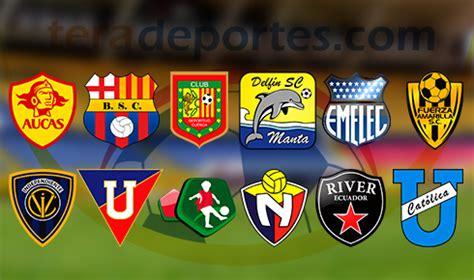 Calendario Serie A Ecuador Calendario Completo De La Segunda Etapa De La Serie A