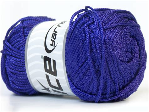 Macrame Yarn - macrame cord purple basic plain yarns yarns