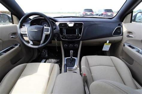 Chrysler 200 2014 Interior by 2014 Chrysler 200 Touring Convertible Interior Front