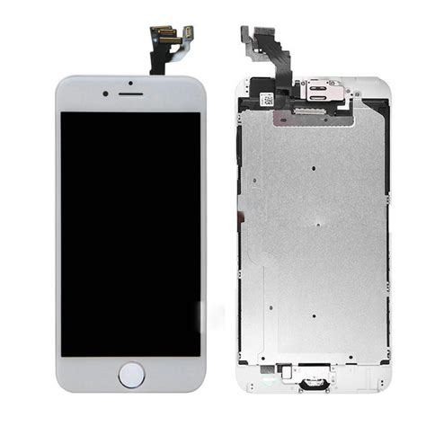 Lcd Screen Iphone 6 iphone 6 plus 5 5 quot white lcd lens touch screen display