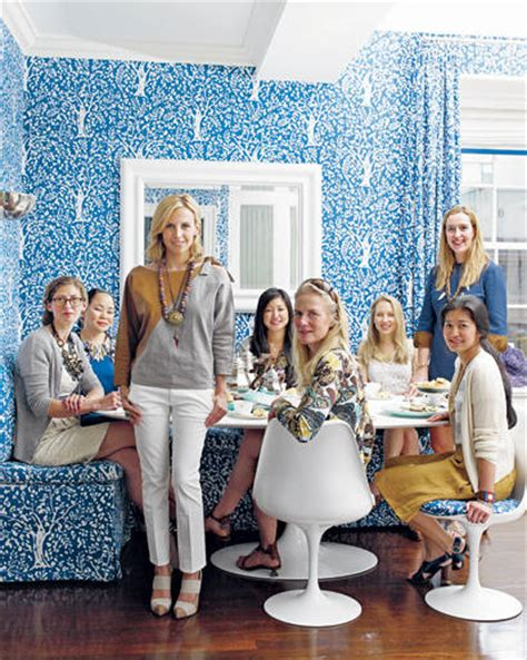 famous folk at home tory burch s home in southton famous folk at home tory burch in her manhattan apartment
