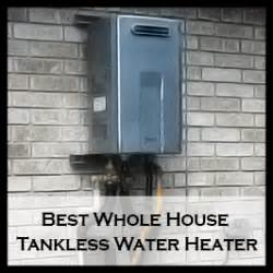 heat  water   house tankless water heater