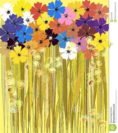 fiori della primavera fiori della primavera illustrazione illustrazione
